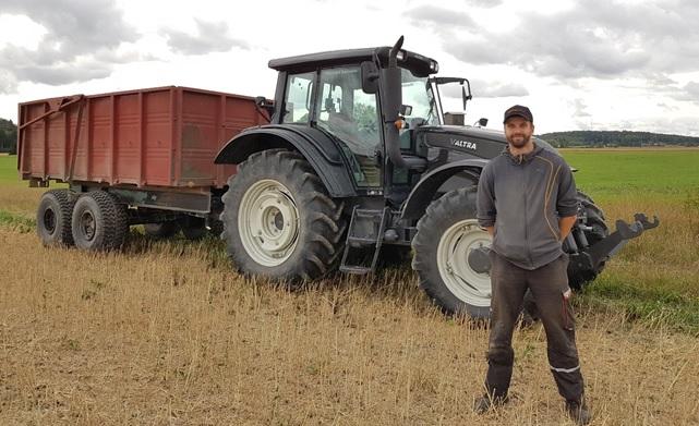 Josper Tigerstedt kokeili Twist Comboa kasvukaudella 2018 Kouvolan Elimäellä.