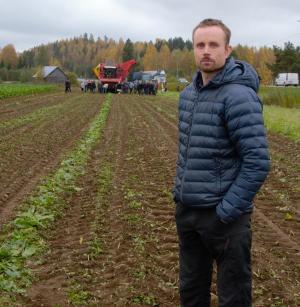 <b>Petri Suvanto</b> on Sucroksella konsulenttina ja hän on tyytyväinen kehitykseen juurikasalalla.