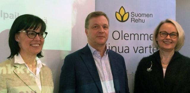 Marjut Suokanto, Juhani Vuorenmaa ja Ulla Ketola
