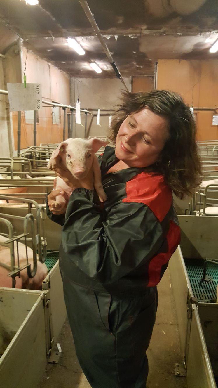 Minna-Mari Purtsi-Toimi toimii Viljelijän Bernerillä sikatilojen asiantuntijana.